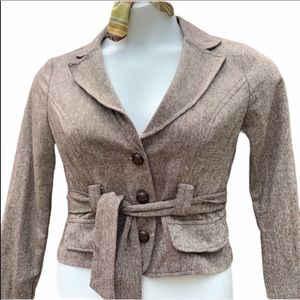 NWT forever 21 Brown Blazer size M